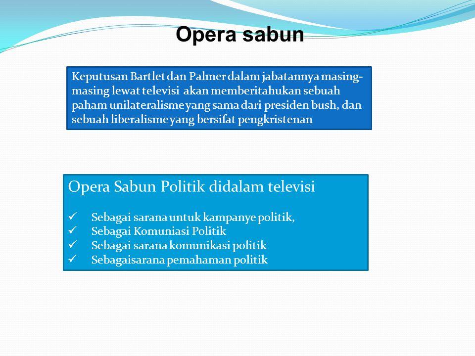 Opera sabun Opera Sabun Politik didalam televisi