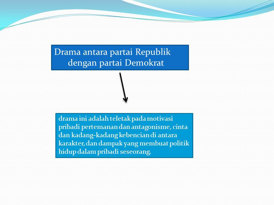 Drama antara partai Republik dengan partai Demokrat