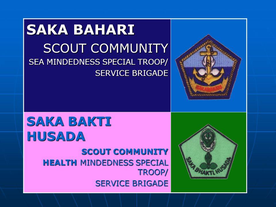 SAKA BAHARI SCOUT COMMUNITY SAKA BAKTI HUSADA