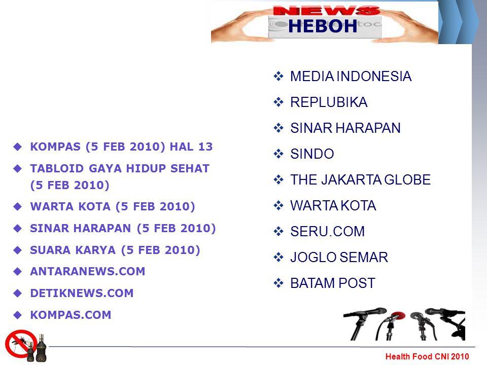 HEBOH MEDIA INDONESIA REPLUBIKA SINAR HARAPAN SINDO THE JAKARTA GLOBE