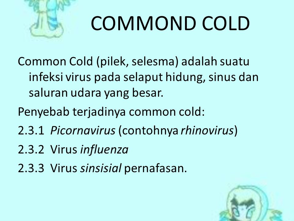 COMMOND COLD