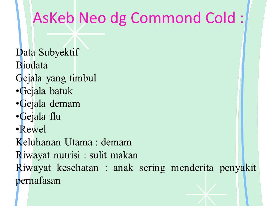 AsKeb Neo dg Commond Cold :