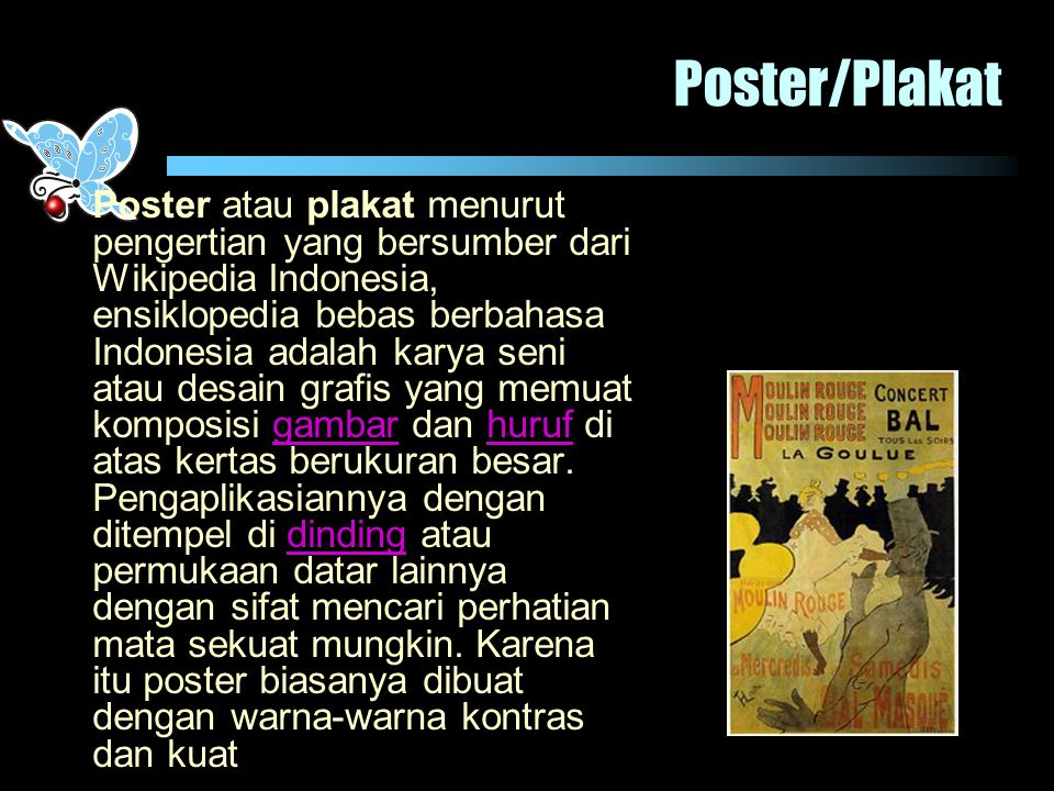 Poster/Plakat