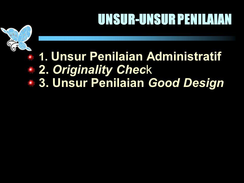 UNSUR-UNSUR PENILAIAN