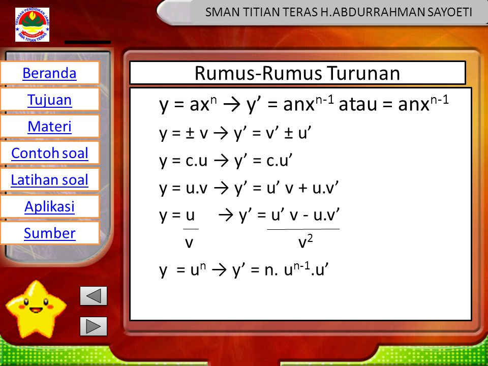 SMAN TITIAN TERAS H.ABDURRAHMAN SAYOETI