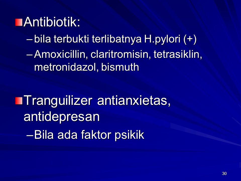 Tranguilizer antianxietas, antidepresan