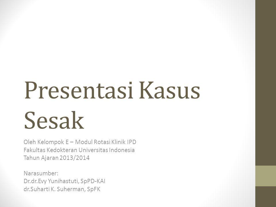 Presentasi Kasus Sesak