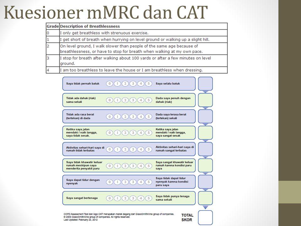 Kuesioner mMRC dan CAT