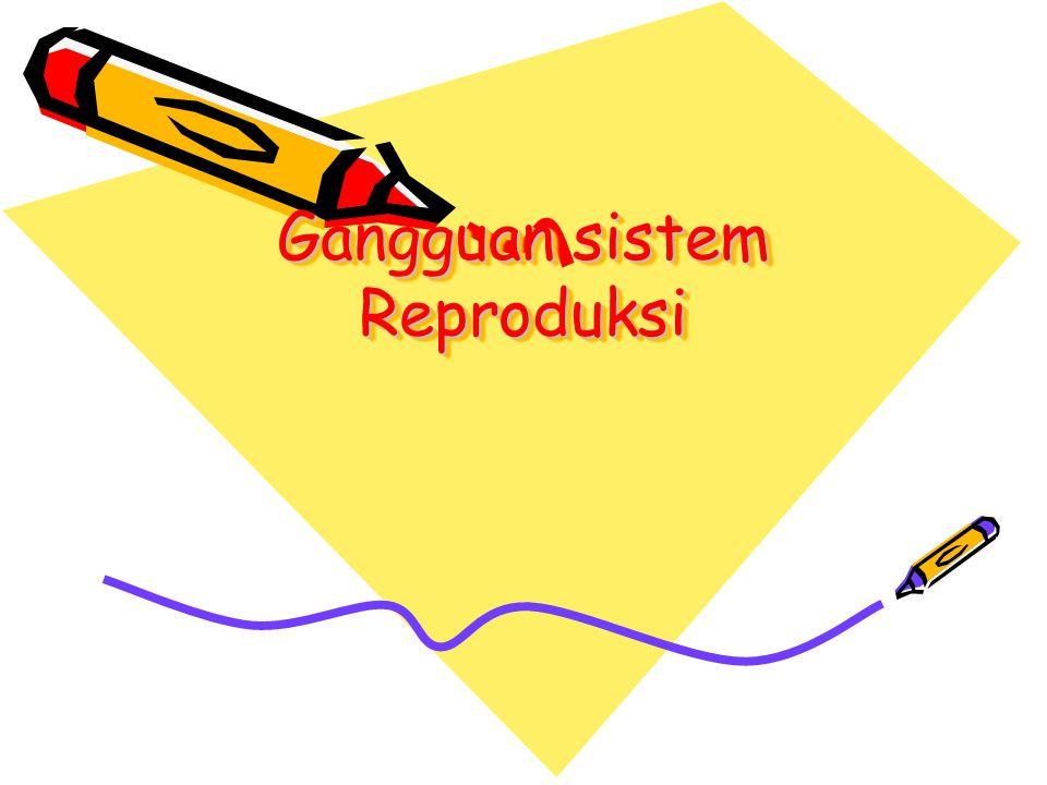 Gangguan sistem Reproduksi