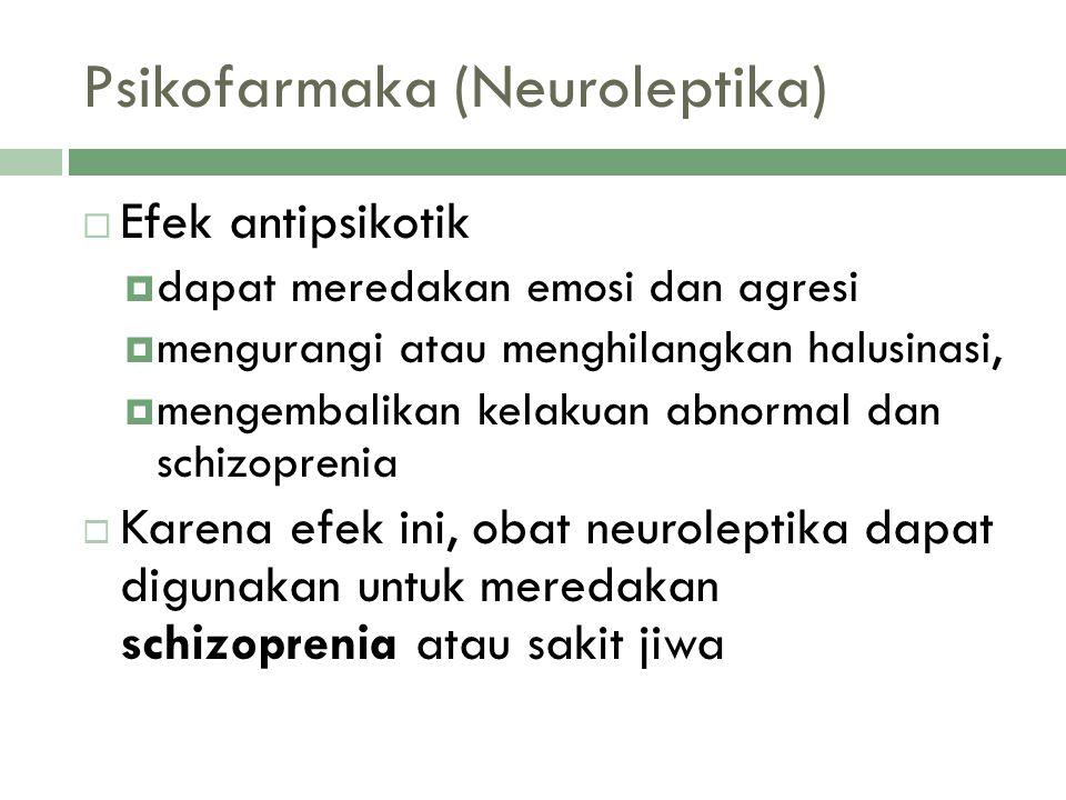 Psikofarmaka (Neuroleptika)