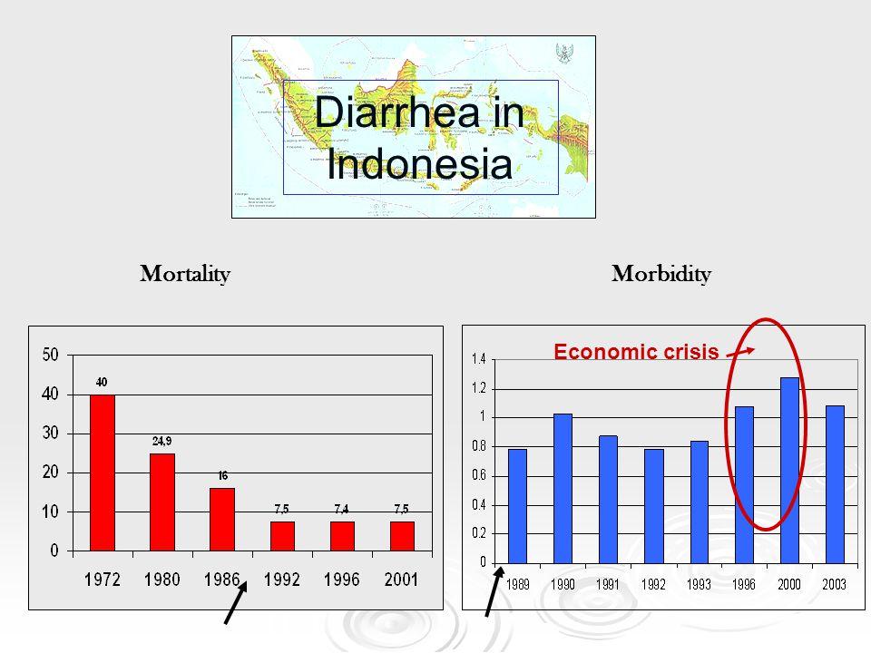 Diarrhea in Indonesia Mortality Morbidity Economic crisis