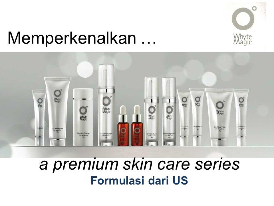 a premium skin care series
