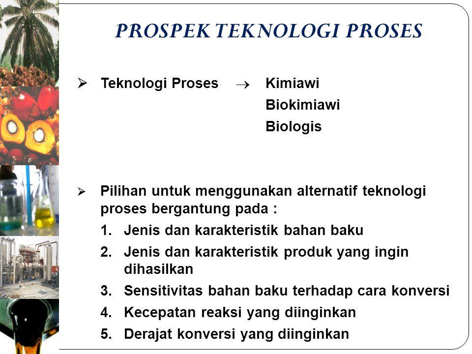PROSPEK TEKNOLOGI PROSES