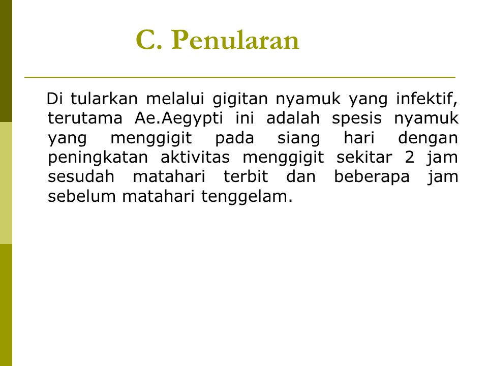 C. Penularan