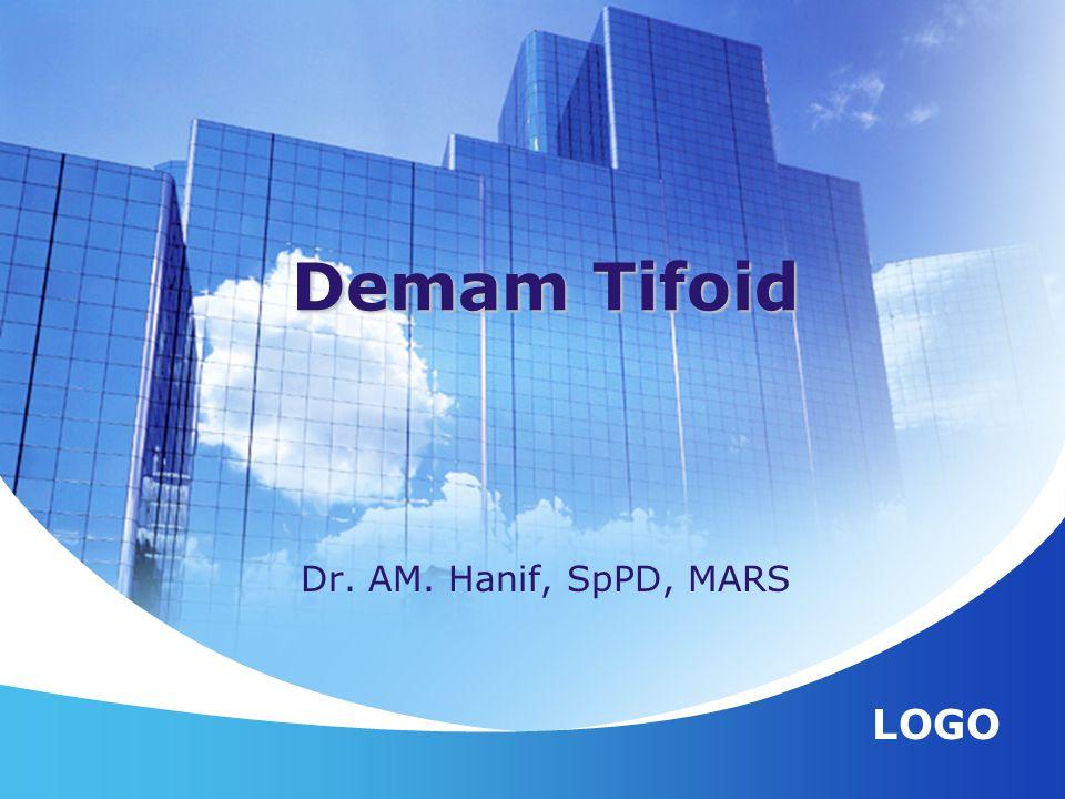 Demam Tifoid Dr. AM. Hanif, SpPD, MARS
