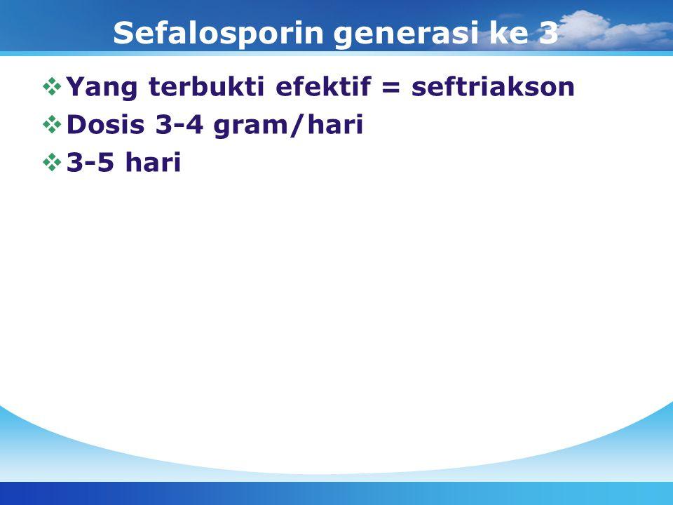 Sefalosporin generasi ke 3