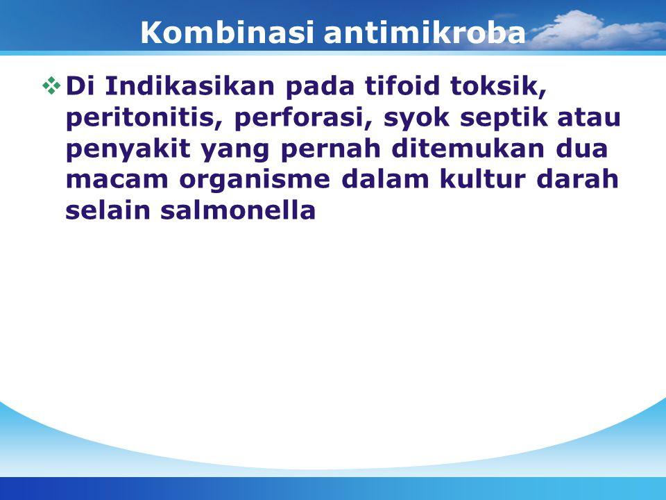 Kombinasi antimikroba