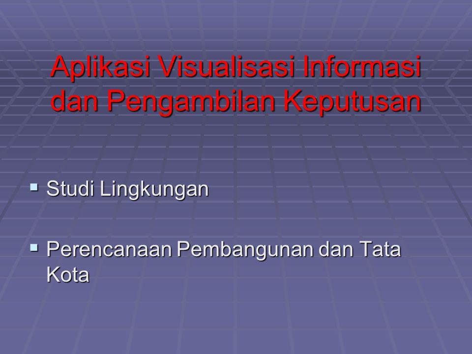 Aplikasi Visualisasi Informasi dan Pengambilan Keputusan