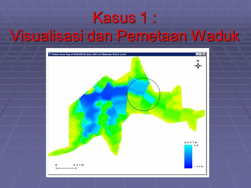 Kasus 1 : Visualisasi dan Pemetaan Waduk