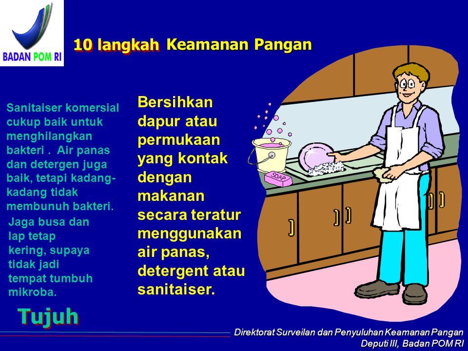 Tujuh 10 langkah Keamanan Pangan