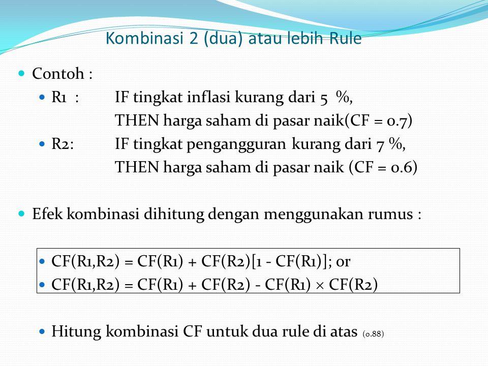 Kombinasi 2 (dua) atau lebih Rule