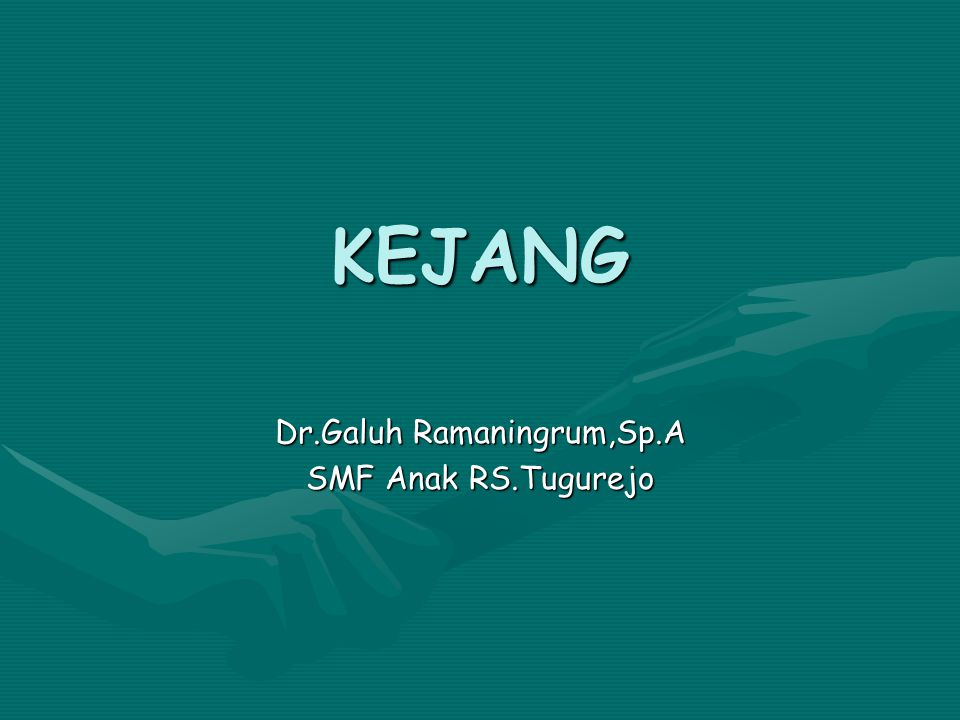 Dr.Galuh Ramaningrum,Sp.A SMF Anak RS.Tugurejo