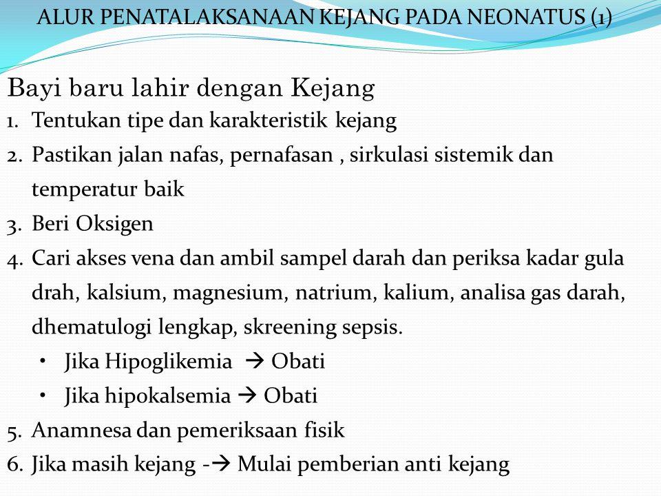 ALUR PENATALAKSANAAN KEJANG PADA NEONATUS (1)