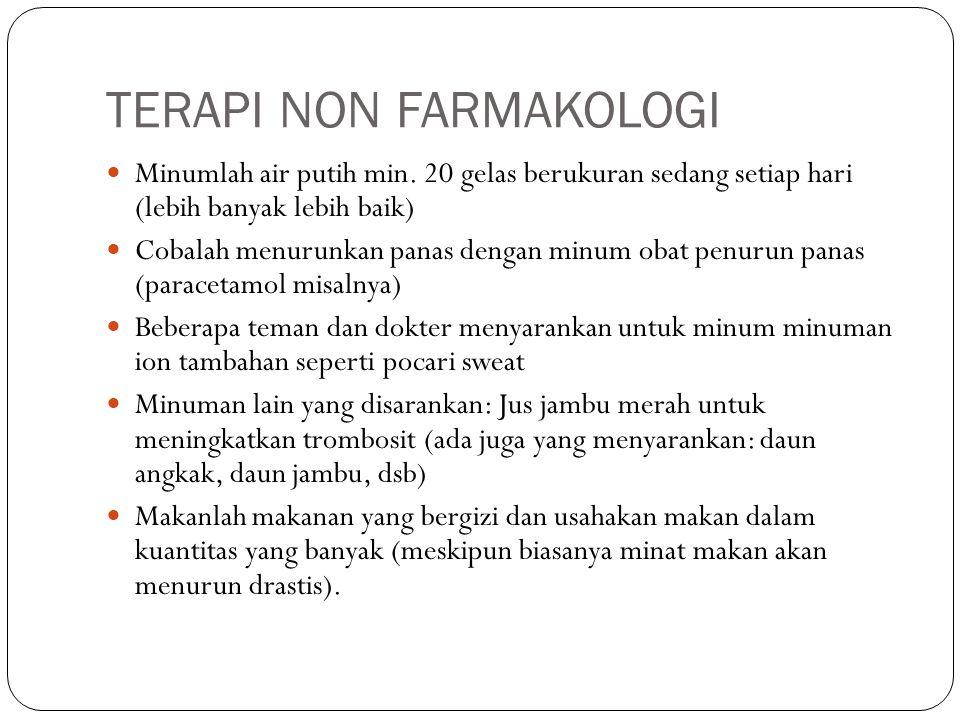 TERAPI NON FARMAKOLOGI