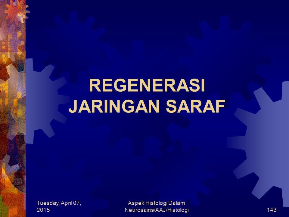 REGENERASI JARINGAN SARAF