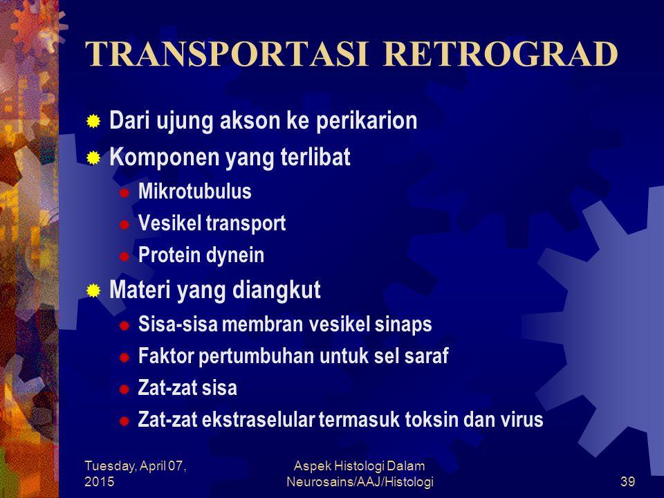 TRANSPORTASI RETROGRAD