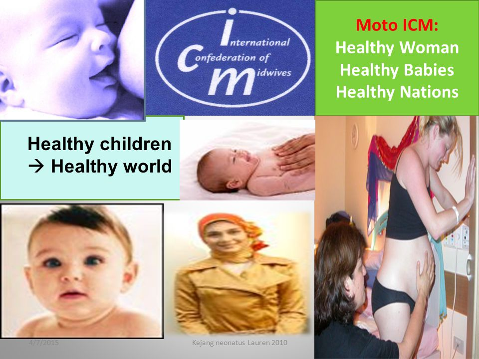 Healthy children  Healthy world