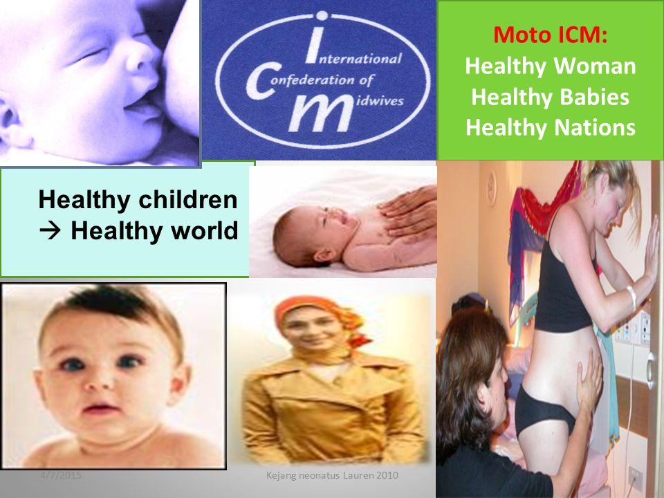 Healthy children  Healthy world