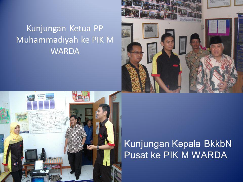 Kunjungan Ketua PP Muhammadiyah ke PIK M WARDA