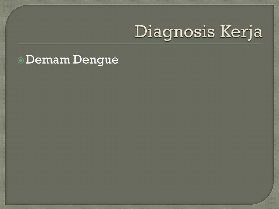 Diagnosis Kerja Demam Dengue