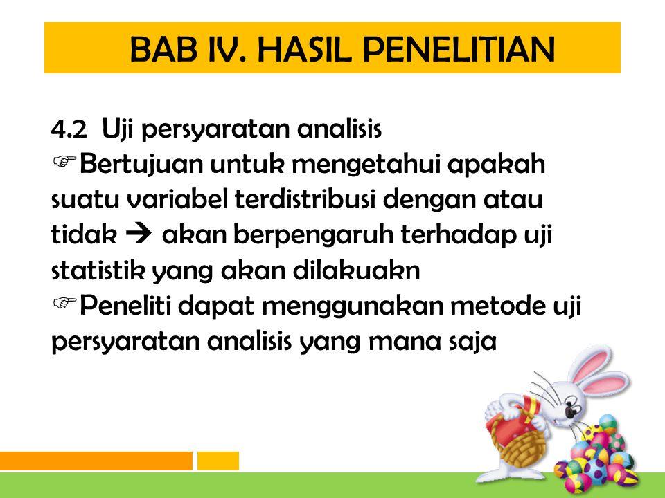 BAB IV. HASIL PENELITIAN