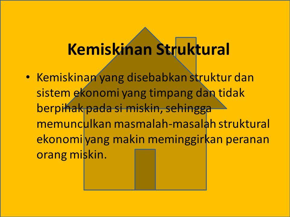 Kemiskinan Struktural