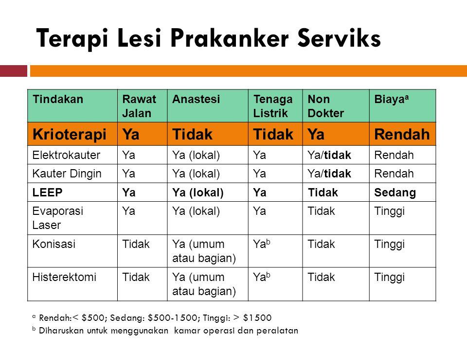 Terapi Lesi Prakanker Serviks