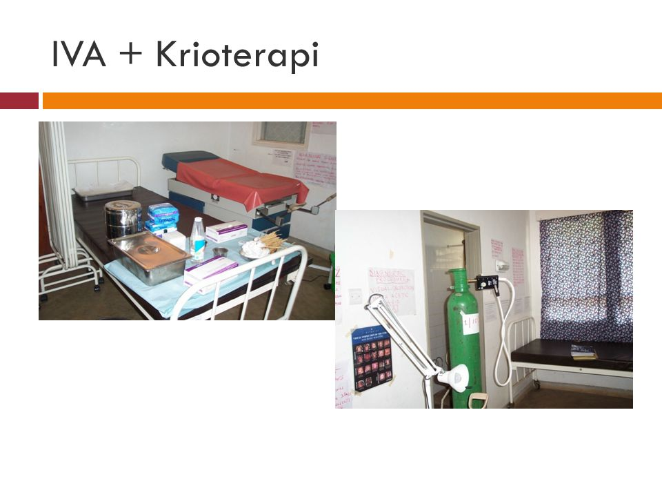 IVA + Krioterapi