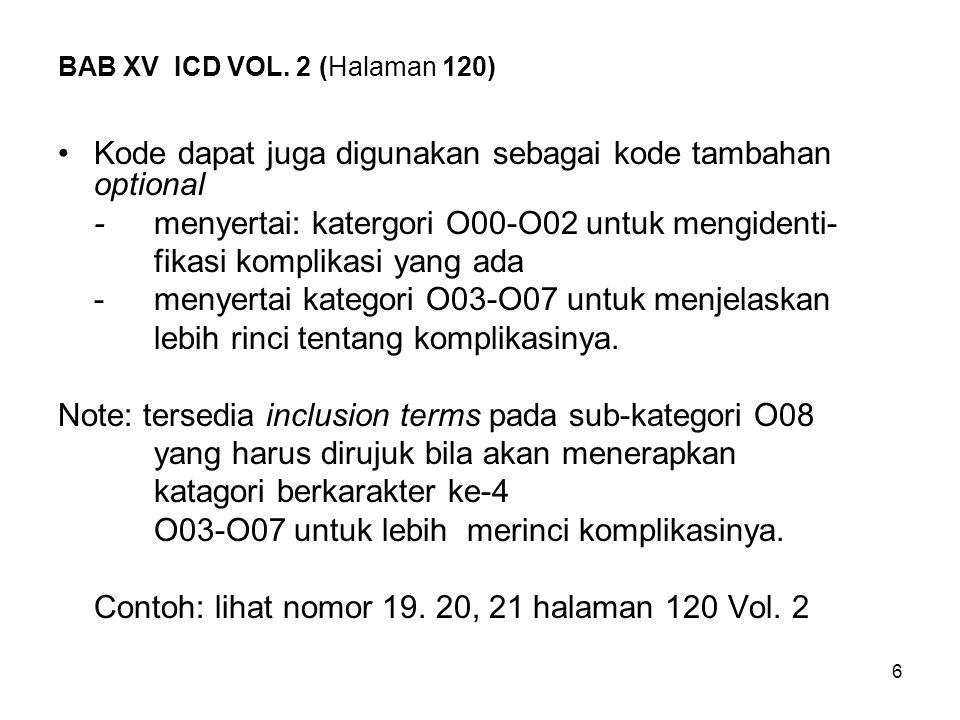 BAB XV ICD VOL. 2 (Halaman 120)