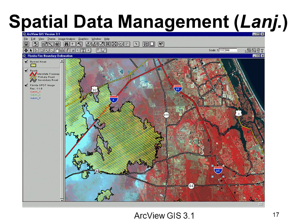 Spatial Data Management (Lanj.)