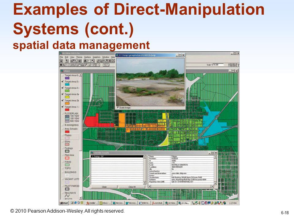 Examples of Direct-Manipulation Systems (cont