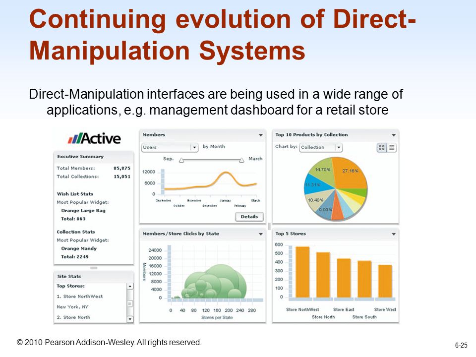 Continuing evolution of Direct-Manipulation Systems