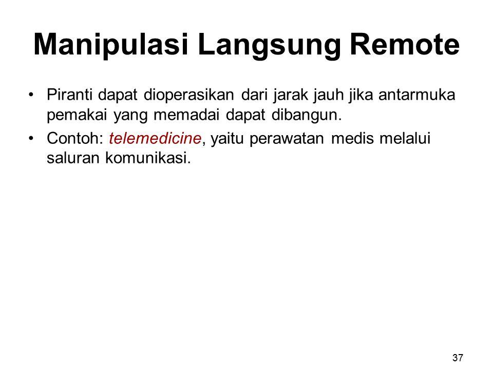 Manipulasi Langsung Remote
