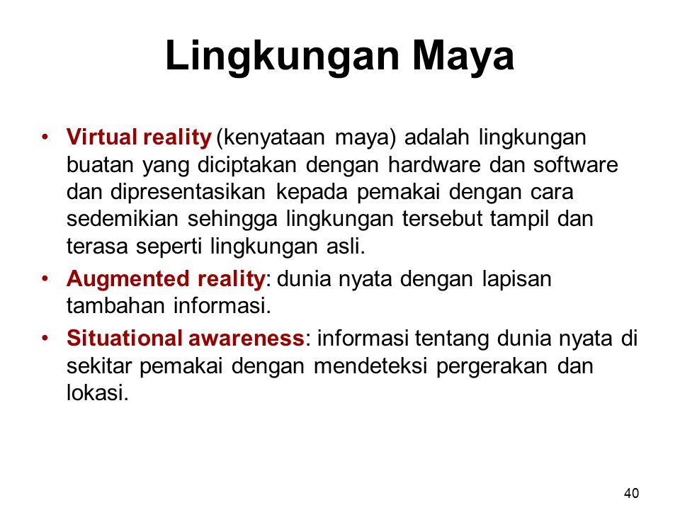 Lingkungan Maya