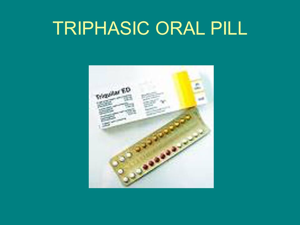 TRIPHASIC ORAL PILL