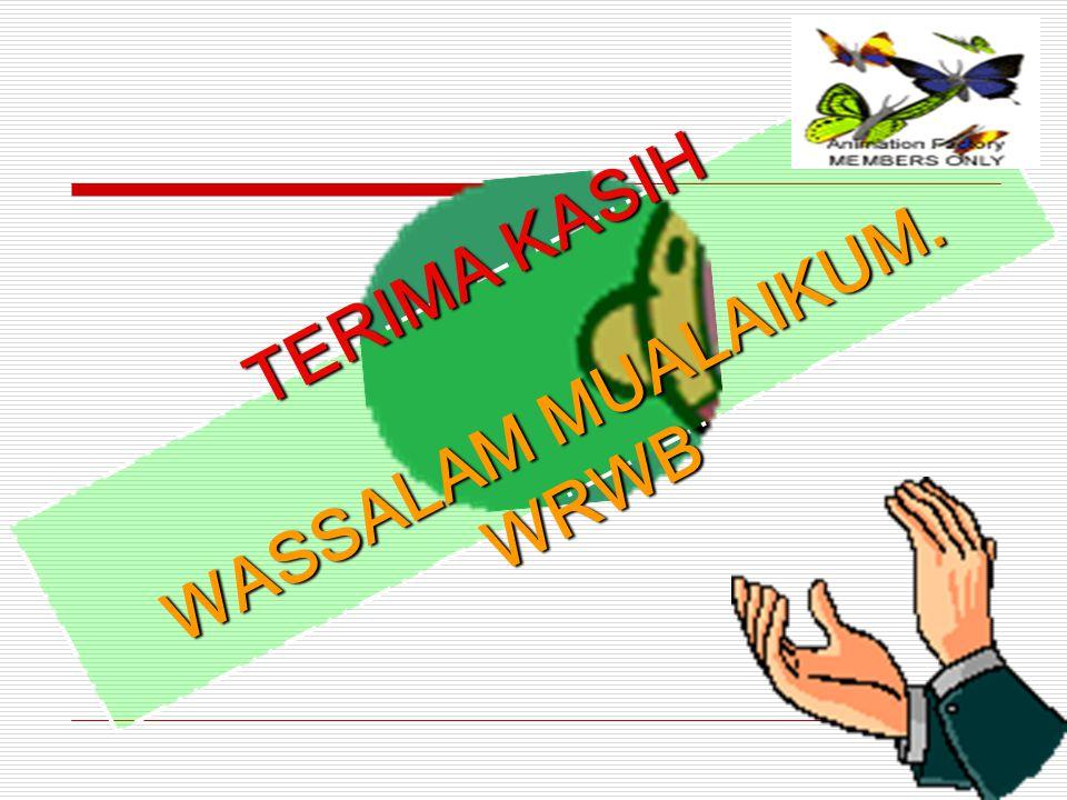WASSALAM MUALAIKUM. WRWB