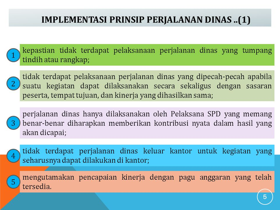 IMPLEMENTASI PRINSIP PERJALANAN DINAS ..(1)