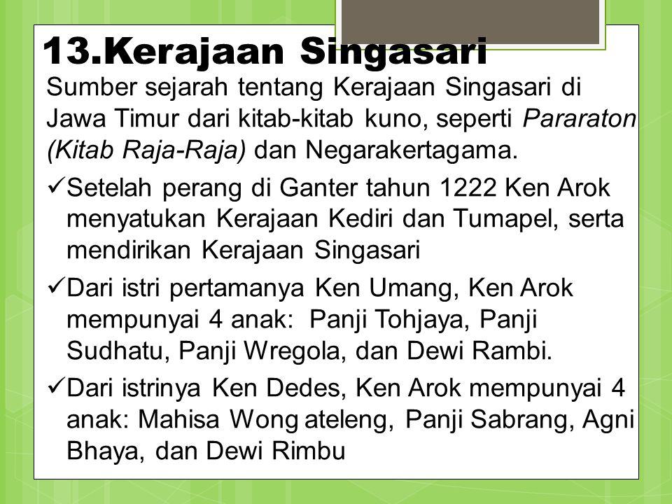 13.Kerajaan Singasari