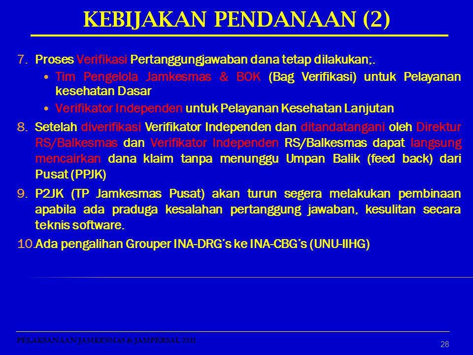 KEBIJAKAN PENDANAAN (2)