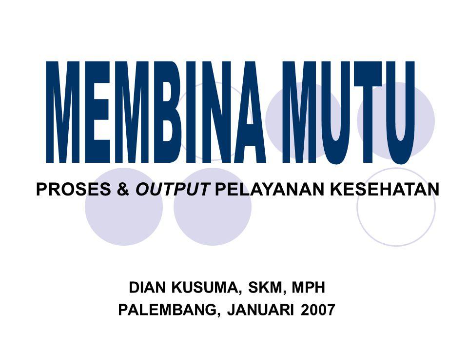 DIAN KUSUMA, SKM, MPH PALEMBANG, JANUARI 2007